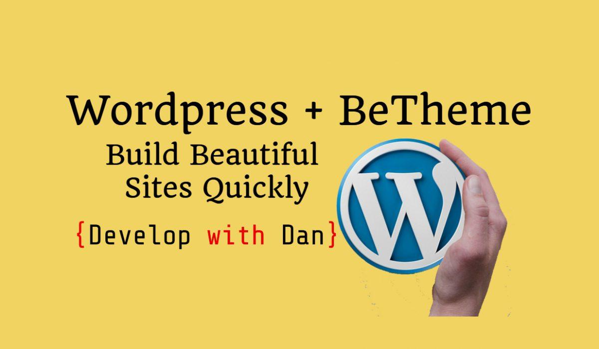Wordpress + Betheme Free Course