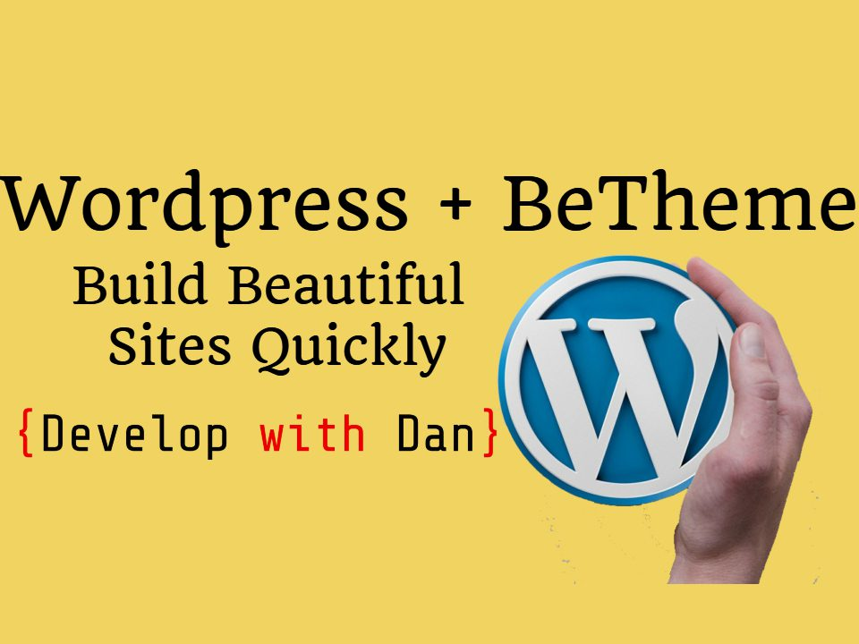 Wordpress + Betheme Free Course