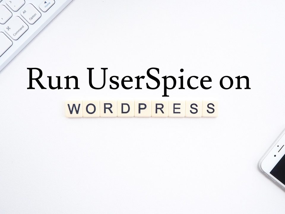 UserSpice on Wordpress